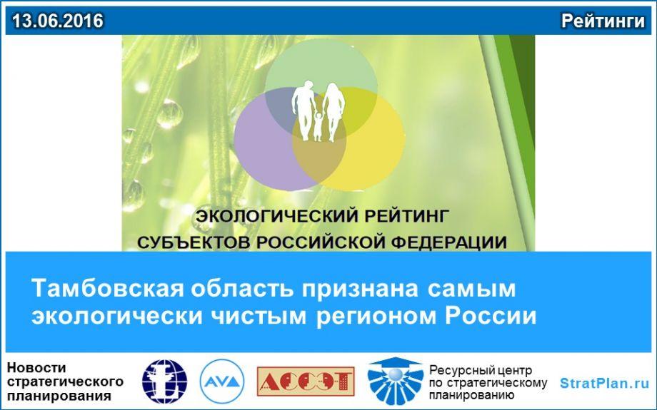 эффективности использования самые эколоически чистые регионы россии чему снится